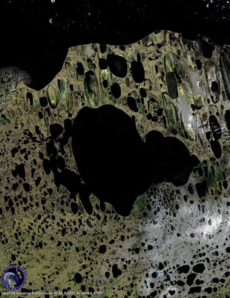 Satellite Image of Alaska (Landsat)
