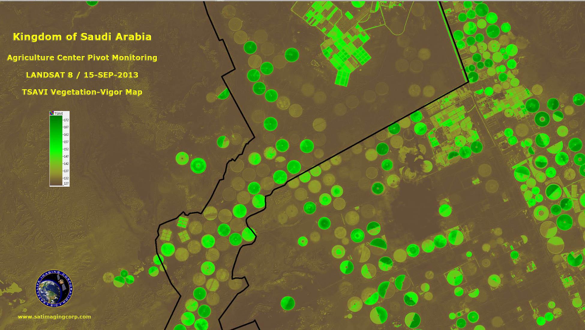 Landsat 8 agriculture