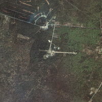 Satellite Picture - Dzibilchaltun, Mexico