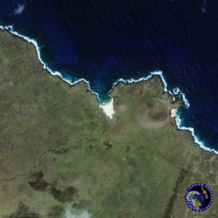 IKONOS Satellite Image of Easter Island