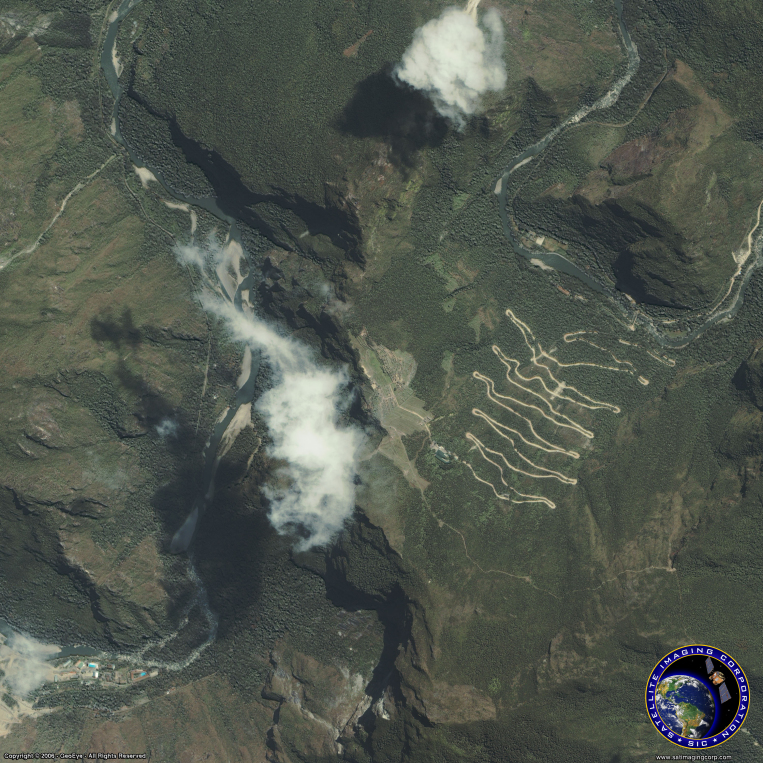 IKONOS Satellite Image of Machu Picchu