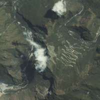 Satellite Images - Machu Picchu, Peru