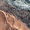 GeoEye-1 Satellite Image of Kuiseb River, Africa