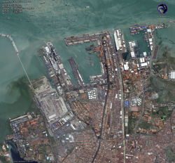 QuickBird Image of Surabaya, Indonesia