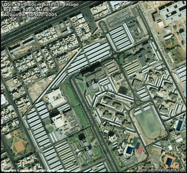 QuickBird Satellite Image of Riyadh, Saudi Arabia