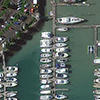 WorldView-3 Satellite Image of Auckland, New Zealand Marina