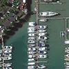 WorldView-3 Satellite Image of Auckland, New Zealand Marina