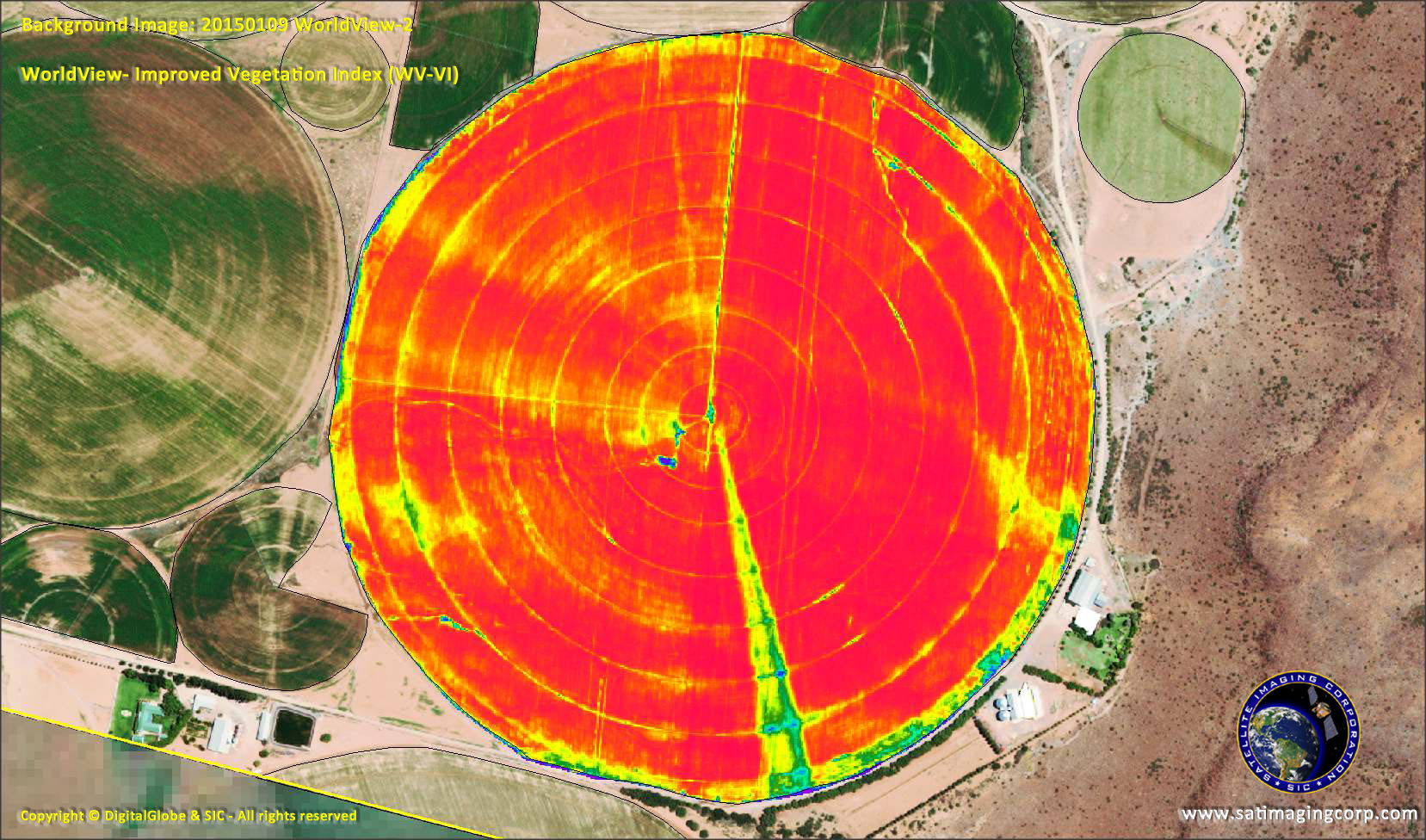 Gis Maps For Agriculture Mapping Satellite Imaging Corp