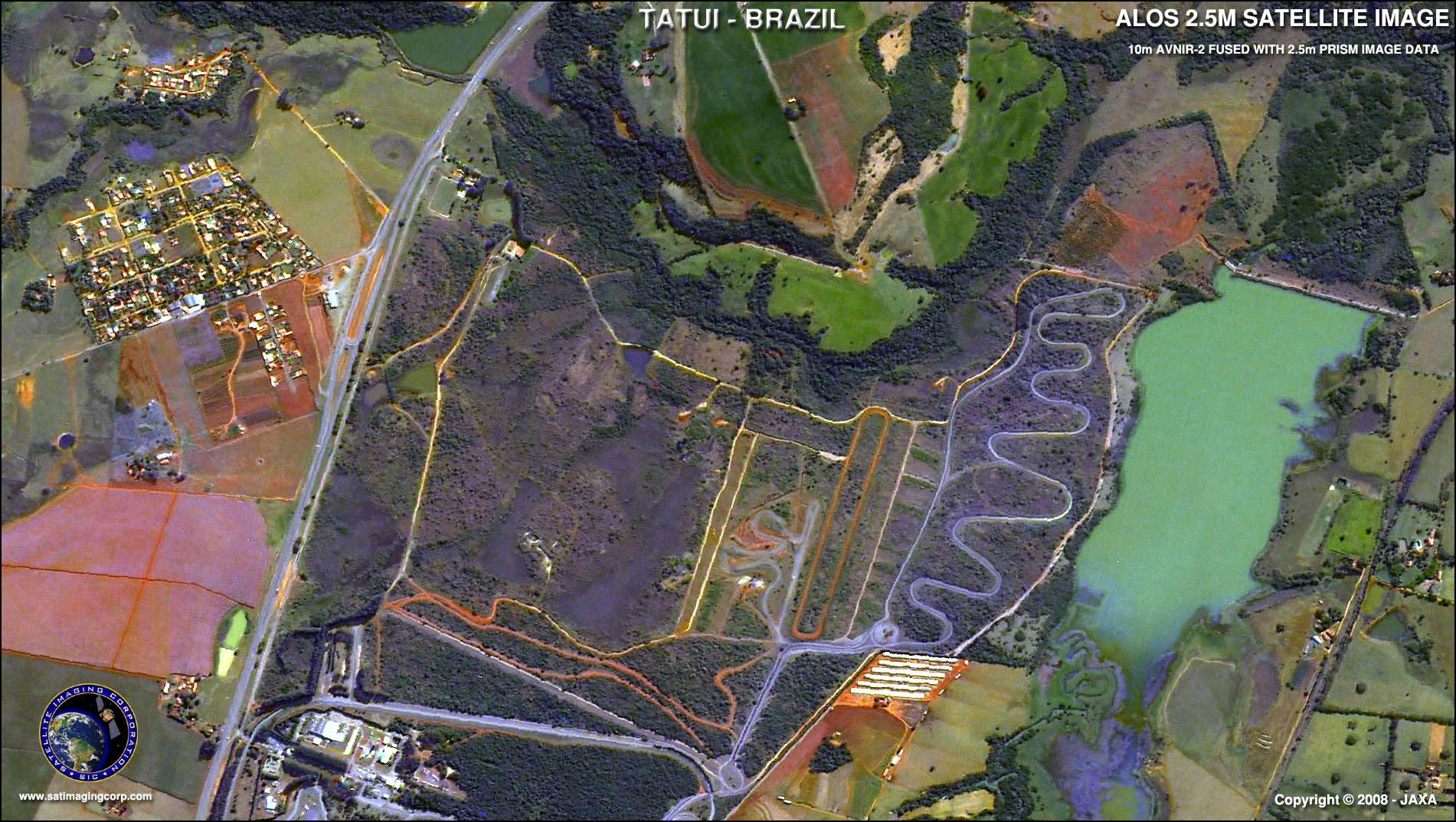 ALOS Satellite Image of Tatui   Satellite Imaging Corp