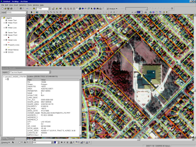 GIS Map of Friendswood, Texas - ArcGIS for Tax Mapping