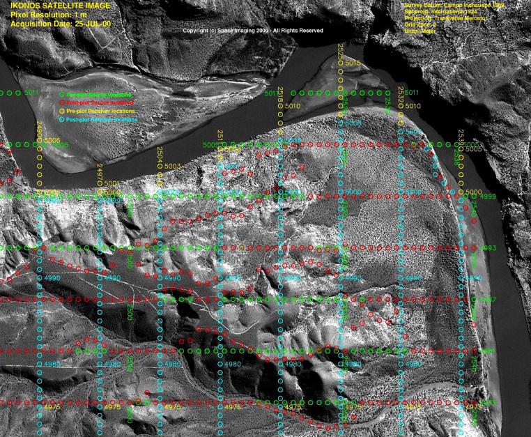 IKONOS Satellite Image of Neuquen Basin, Argentina