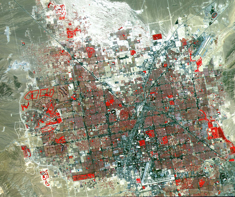 Satellite Images Las Vegas - ASTER