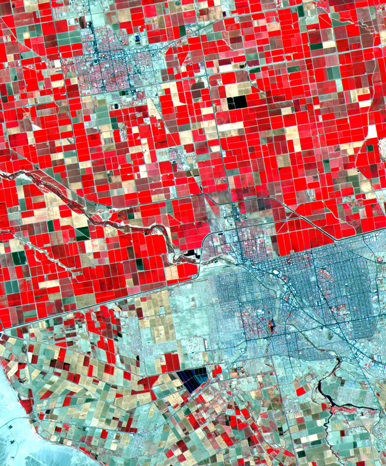 Satellite Images Mexicali - ASTER