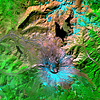 Satellite Image - Mount St. Helens - ASTER