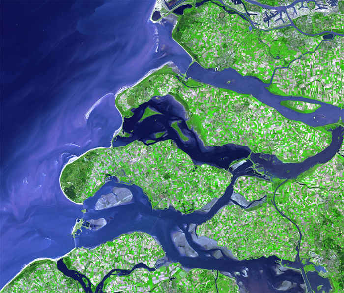 Dikes in the Netherlands