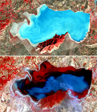 Satellite Image of Northern Tunisia