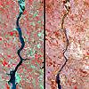 Satellite Image - Oahe - ASTER
