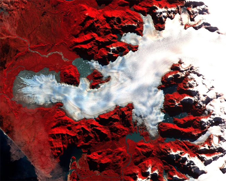 ASTER Satellite Image of Patagonia, Chile
