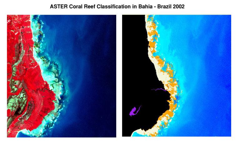 Satellite Image of Bahia, Brazil