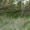 Satellite Images - San Gabriel River - ASTER