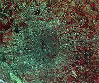 CBERS-2 Satellite Image of Beijing