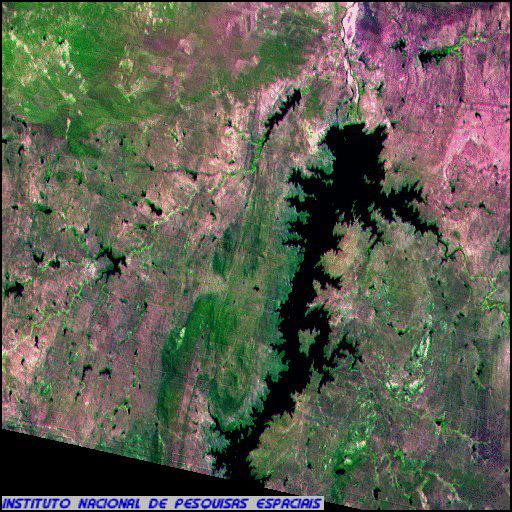 CBERS-2 Satellite Image of Brazil