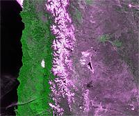 CBERS-2 Satellite Image of South America