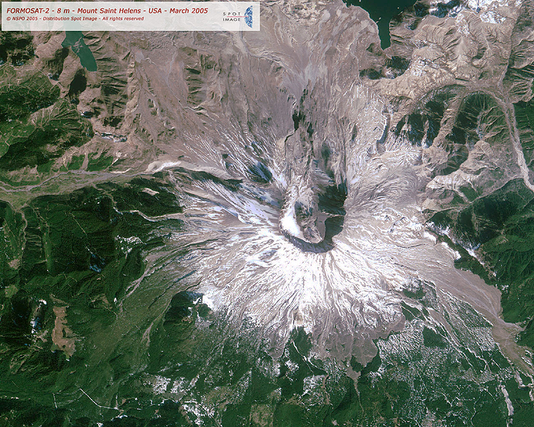 FORMOSAT-2 Satellite Image of Mount St. Helen