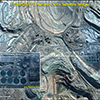 Natural Color: Satellite Image for Mining - Chuquicamata, Chile