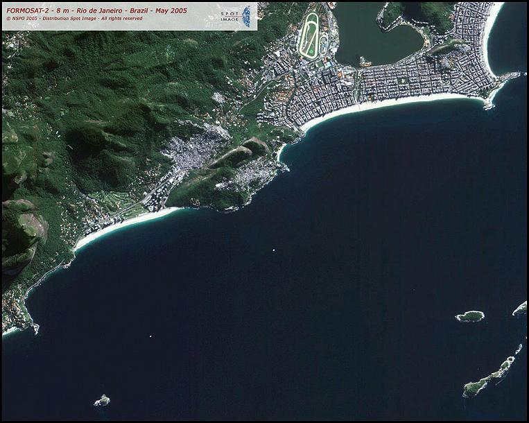 FORMOSAT-2 Satellite Image of Rio de Janeiro
