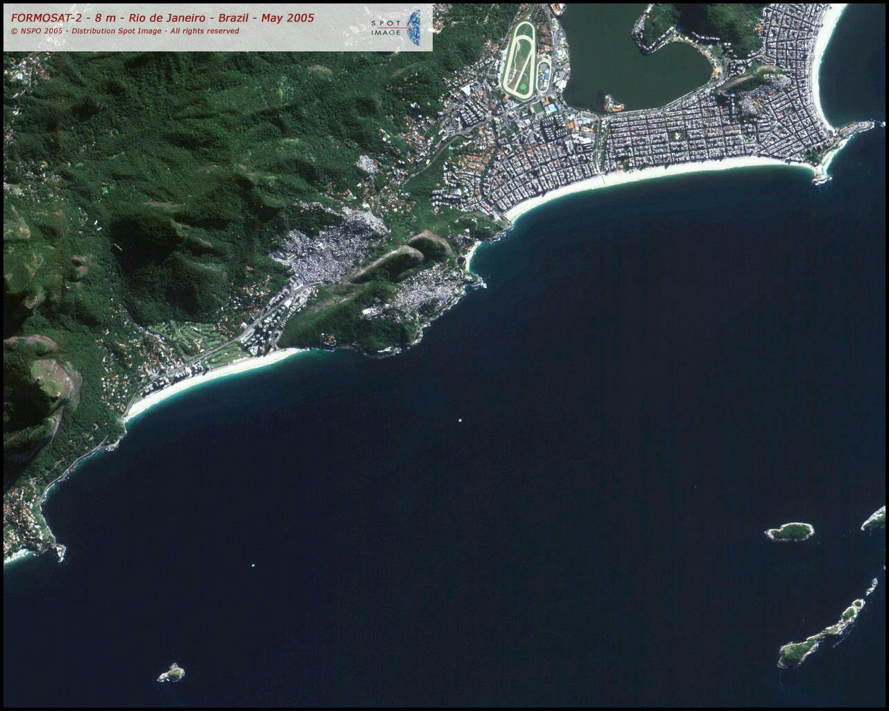 FORMOSAT 2 Satellite Image Of Rio De Janeiro