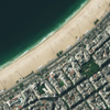 GeoEye-1 Satellite Image of Copacabana Beach
