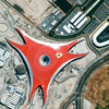 GeoEye-1 Satellite Images of Ferrari World