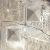 GeoEye-1 Satellite Image of the Giza Pyramids