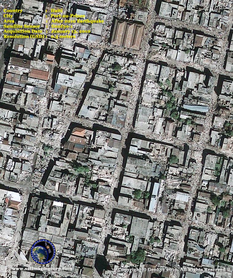 GeoEye-1 Satellite Image of Port-au-Prince, Haiti