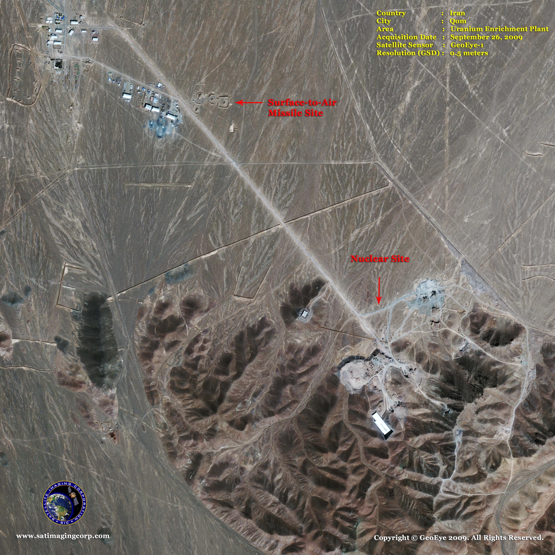 GeoEye 1 Satellite Image of Nuclear Facilities in