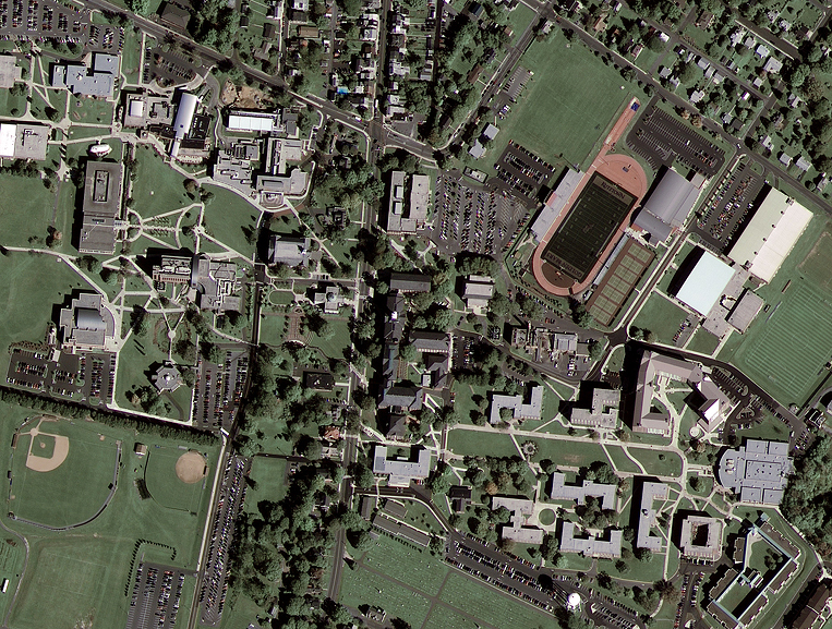 GeoEye-1 Satellite Image of Kutztown University