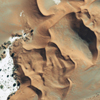 GeoEye-1 Satellite Image of the Namib Desert
