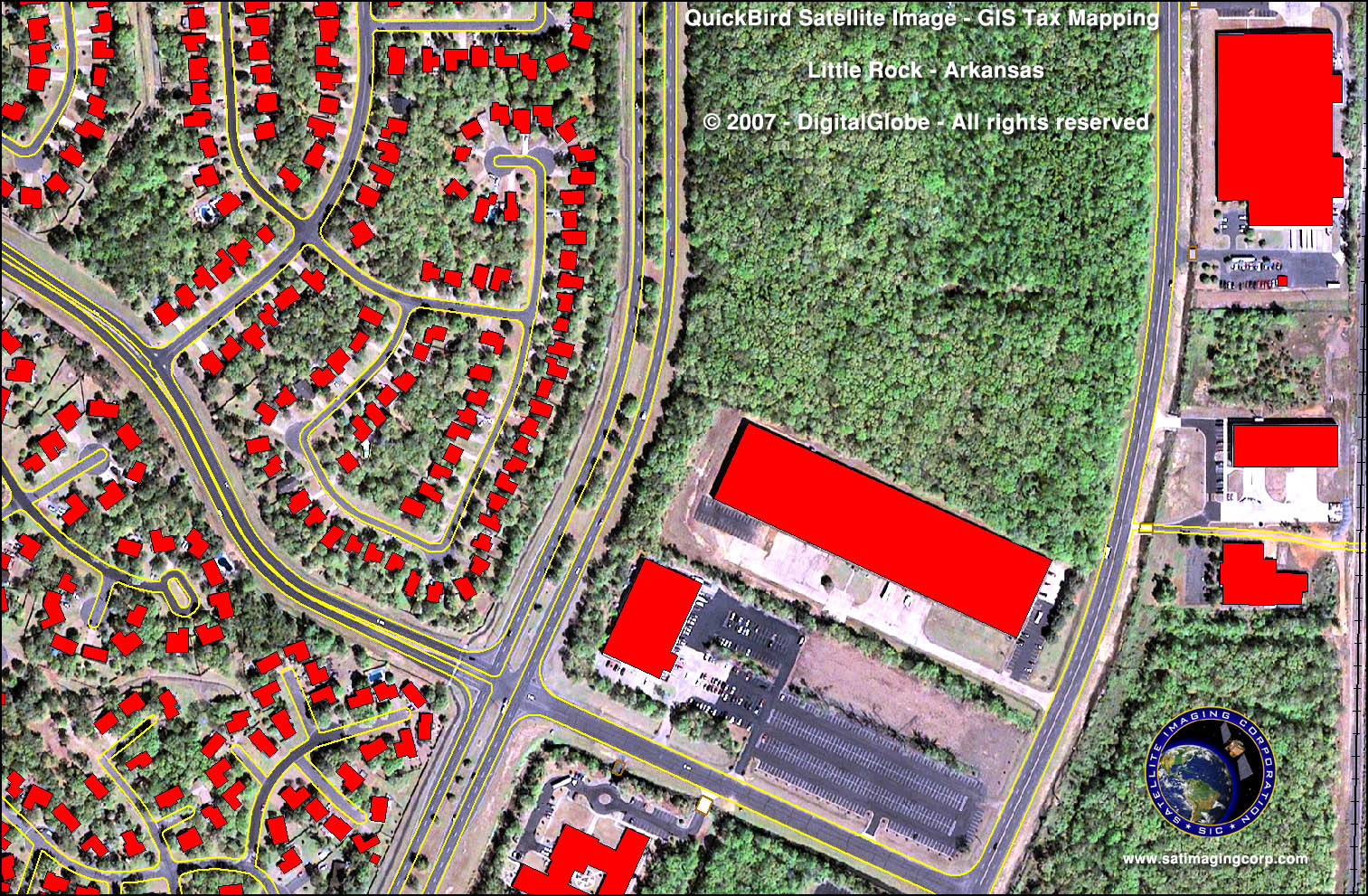 gis tax mapping. gis tax mapping  satellite imaging corp
