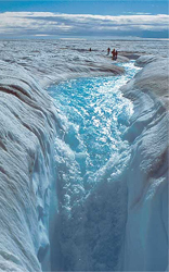 Photo of Melting Greenland Ice Sheets