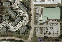 Digital Aerial Photograph of Houston, Texas