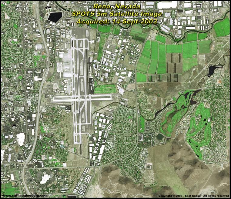 satellite image of reno nevada spot5 satellite