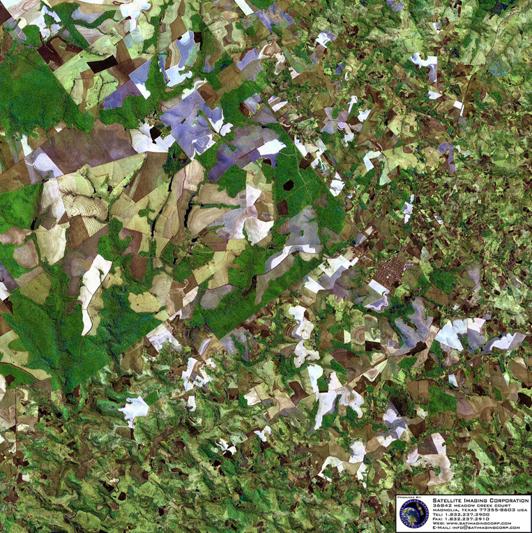 Satellite Image of Parana, Brazil (Landsat)