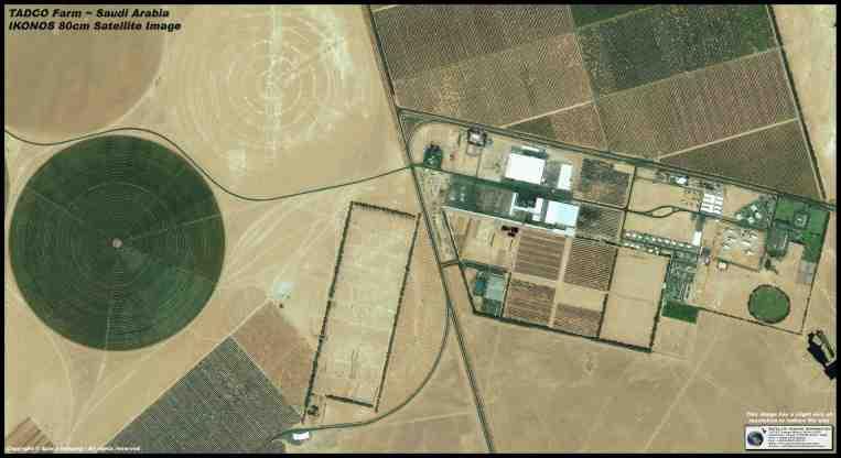 IKONOS Satellite Image of Saudi Arabia (TADCO Facility)