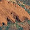 IKONOS - Satellite Image - Ayers Rock