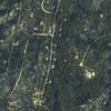 Satellite Image - Bastrop, Texas - Fires