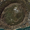 Satellite Image - IKONOS - Diamond Head Crater