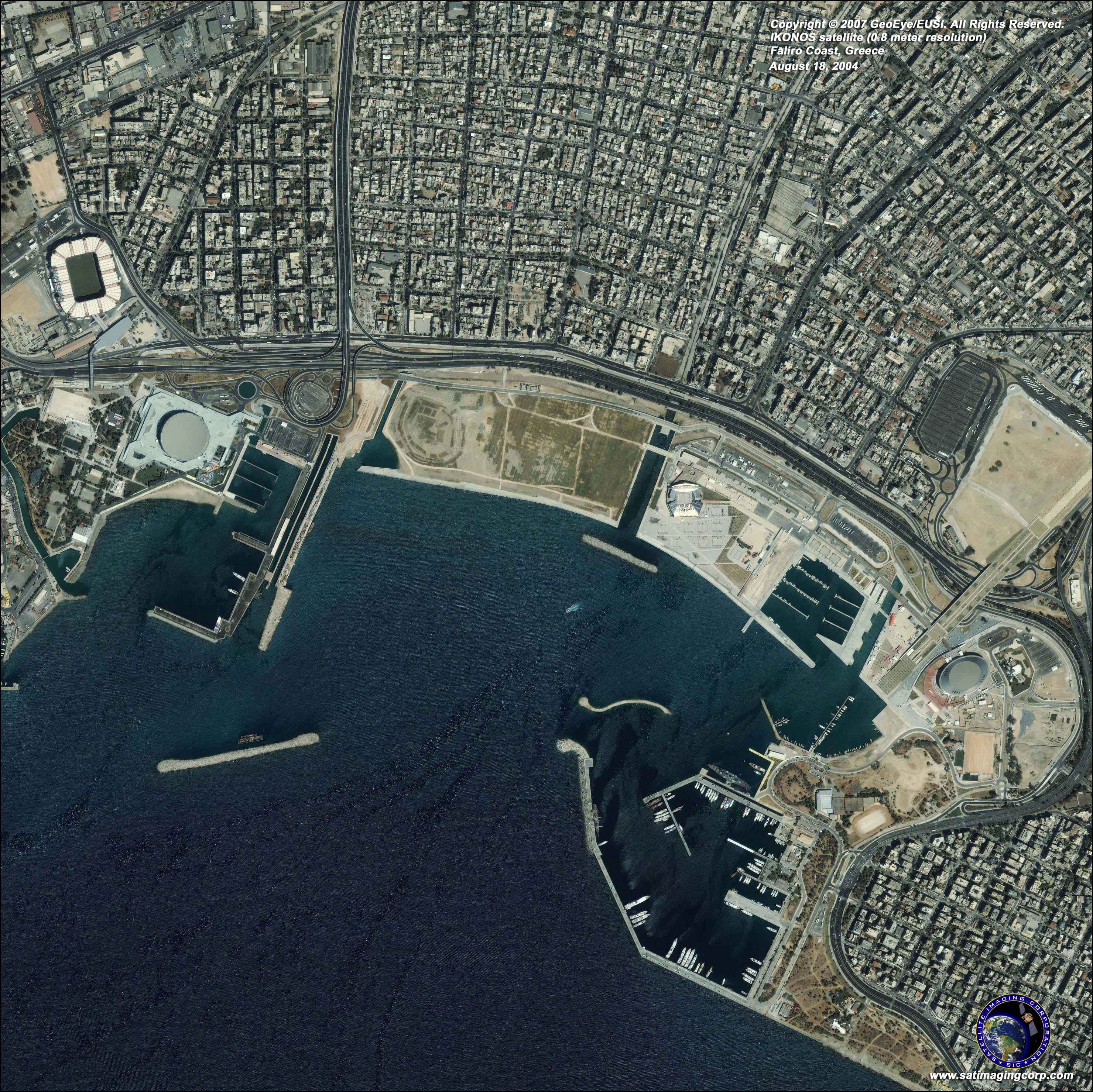 ikonos satellite image athens greece satellite imaging corp