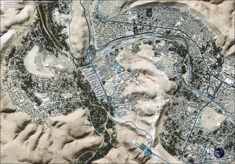 Ikonos Satellite Image Of Algeria Satellite Imaging Corp