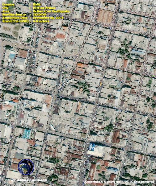 Satellite Images - IKONOS - Port-au-Prince, Haiti